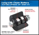 Rolna All Balls 79-5007 43-24mm Honda, ATV, Yamaha